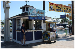 Long Beach Whale Watching Ticket Booth